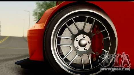 GTA 5 Benefactor Feltzer SA Mobile für GTA San Andreas Rückansicht