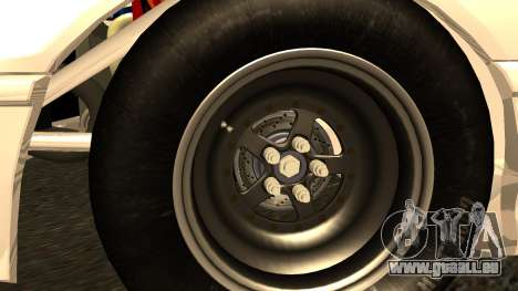 Honda CRX Dragster pour GTA San Andreas sur la vue arrière gauche