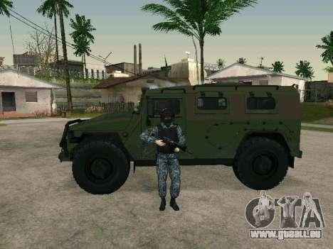 Der Polizist für GTA San Andreas her Screenshot