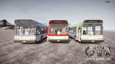GTA 5 Bus v2 pour GTA 4 vue de dessus