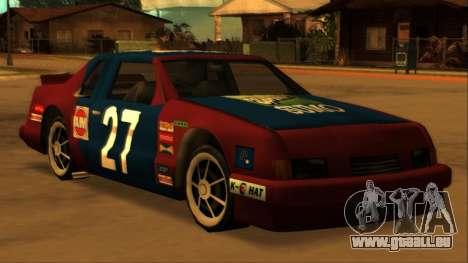 Beta Hotring Racer pour GTA San Andreas vue de droite