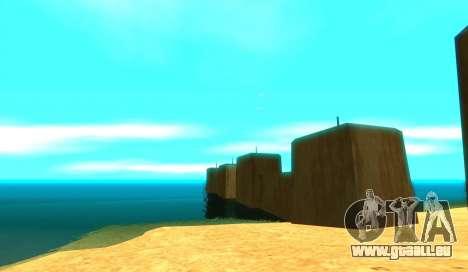 ENB pour de faibles PC pour GTA San Andreas troisième écran