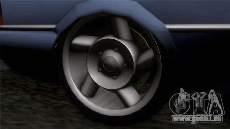 Primo GT für GTA San Andreas zurück linke Ansicht