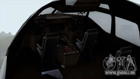 C-17A Globemaster III USAF McGuire pour GTA San Andreas vue arrière