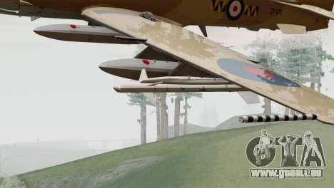 Embraer A-29B Super Tucano RAF Desert pour GTA San Andreas vue de droite