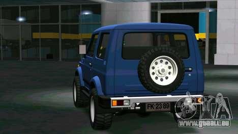 Suzuki Samurai pour GTA San Andreas vue de droite