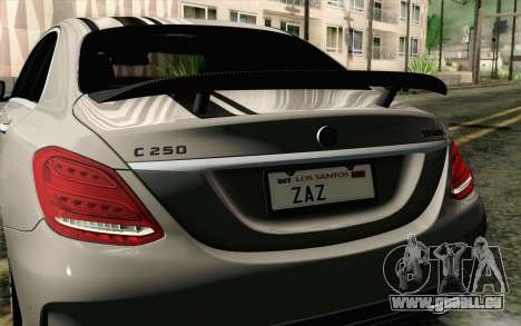 Mercedes-Benz C250 AMG Brabus Biturbo Edition für GTA San Andreas rechten Ansicht