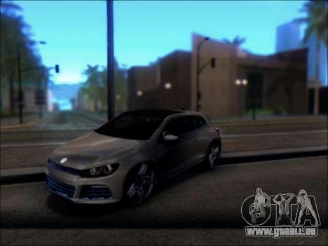 Volkswagen Scirocco Tunable pour GTA San Andreas vue de droite