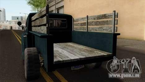 GTA 5 Bravado Rat-Loader pour GTA San Andreas vue arrière