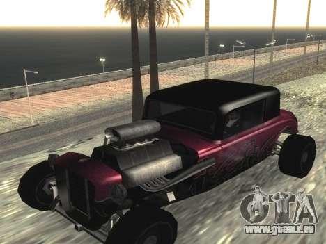 Mise à jour Hotknife pour GTA San Andreas laissé vue