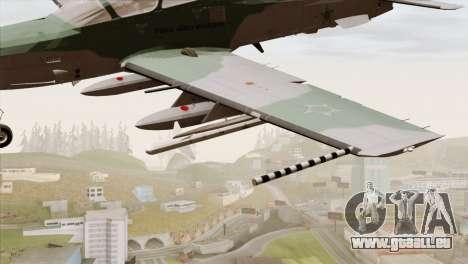Embraer A-29B Super Tucano FAB pour GTA San Andreas vue de droite