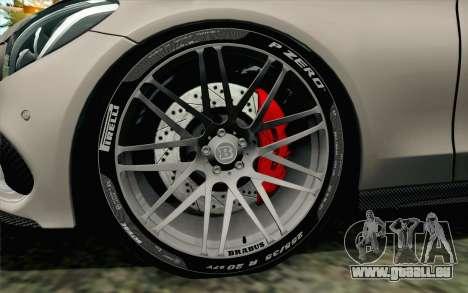 Mercedes-Benz C250 AMG Brabus Biturbo Edition für GTA San Andreas zurück linke Ansicht