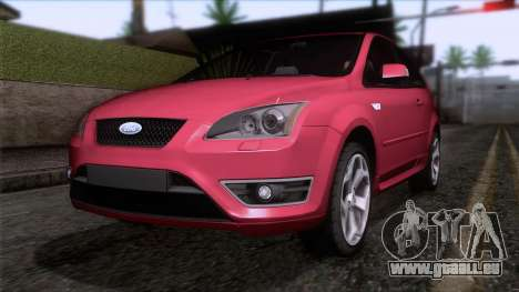 Ford Focus ST Tunable pour GTA San Andreas