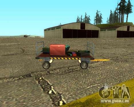 New Bagbox B für GTA San Andreas zurück linke Ansicht