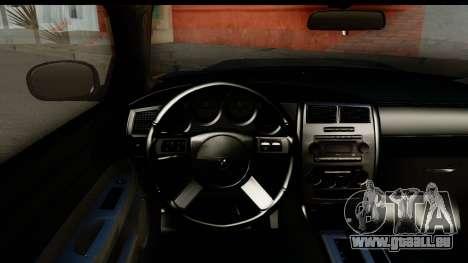 Dodge Charger SRT8 2006 Tuning pour GTA San Andreas vue intérieure