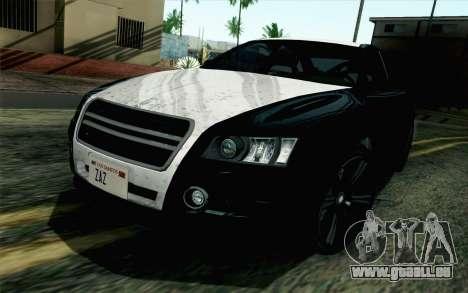 GTA 5 Karin Kuruma v2 SA Mobile pour GTA San Andreas