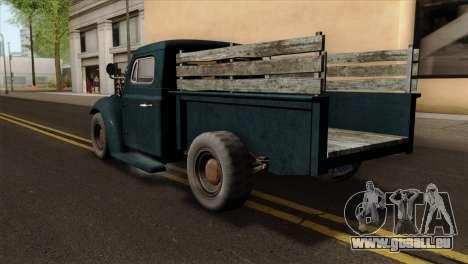 GTA 5 Bravado Rat-Loader pour GTA San Andreas laissé vue