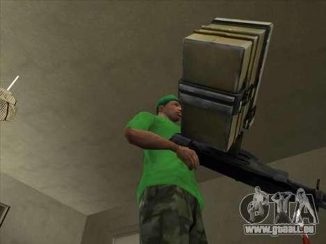 SCHNUR von Battlefield 3 für GTA San Andreas zweiten Screenshot