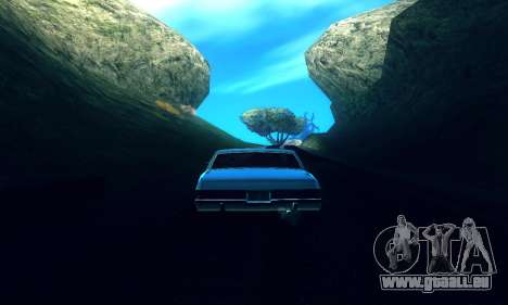 ENB Series pour les basses et Moyennes PC pour GTA San Andreas troisième écran