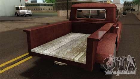 GTA 5 Bravado Rat-Loader IVF für GTA San Andreas Rückansicht