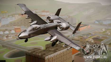 A-10A The Idolmaster -SP- pour GTA San Andreas
