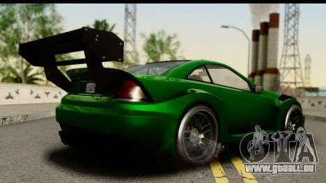GTA 5 Benefactor Feltzer SA Mobile für GTA San Andreas linke Ansicht