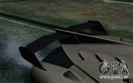 NFS Rivals Lamborghini Veneno für GTA San Andreas Rückansicht