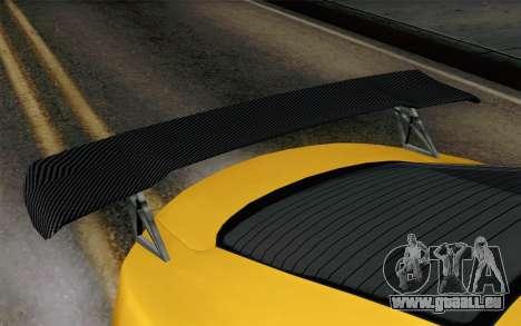 GTA 5 Dewbauchee Exemplar pour GTA San Andreas vue de droite
