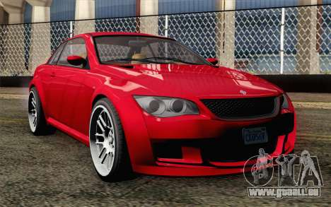 GTA 5 Ubermacht Sentinel Coupe IVF pour GTA San Andreas