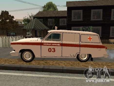 De GAZ à 22 ambulance pour GTA San Andreas laissé vue