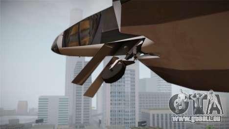 F-15 JASDF 50th Anniversary für GTA San Andreas Rückansicht