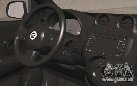 Nissan Micra für GTA San Andreas rechten Ansicht