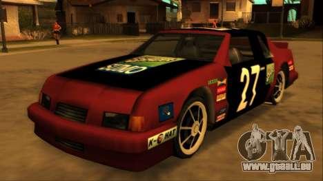 Beta Hotring Racer pour GTA San Andreas