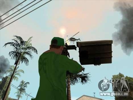 SCHNUR von Battlefield 3 für GTA San Andreas sechsten Screenshot