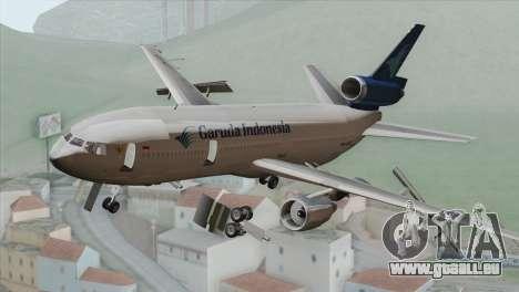 DC-10-30 Garuda Indonesia pour GTA San Andreas