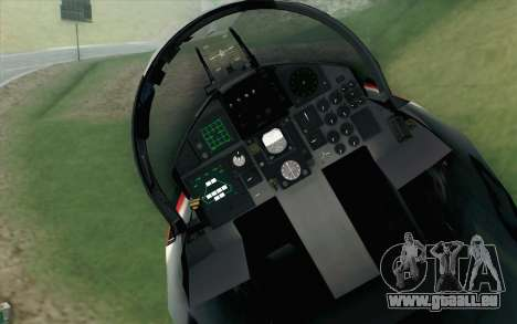 F-15J Kai 60th Anniversary of JASDF für GTA San Andreas Rückansicht