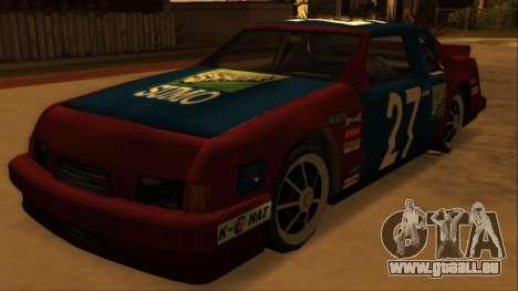 Beta Hotring Racer pour GTA San Andreas vue arrière
