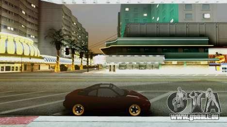 Toyota MR2 pour GTA San Andreas laissé vue
