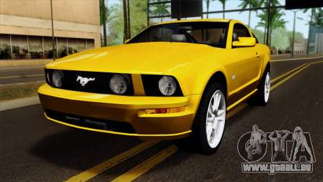 Ford Mustang GT Wheels 1 pour GTA San Andreas
