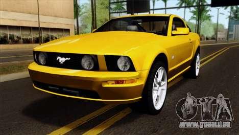 Ford Mustang GT Wheels 1 für GTA San Andreas