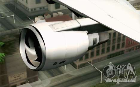 Boeing 767-300 PLL LOT für GTA San Andreas Rückansicht