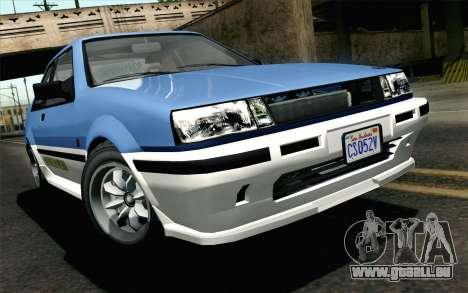 GTA 5 Karin Futo für GTA San Andreas