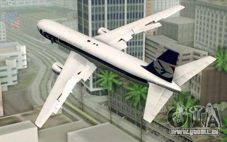 Boeing 767-300 PLL LOT für GTA San Andreas linke Ansicht