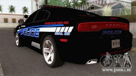 Dodge Charger 2013 LSPD für GTA San Andreas linke Ansicht