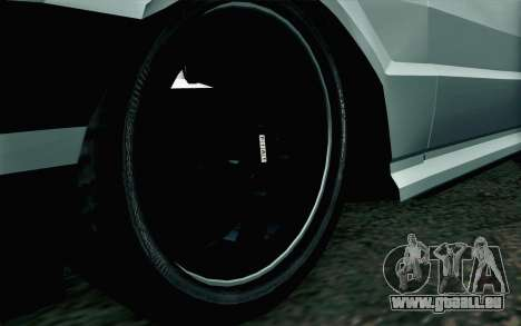 Fiat Uno Fire pour GTA San Andreas sur la vue arrière gauche