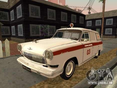 GAS-22 Krankenwagen für GTA San Andreas