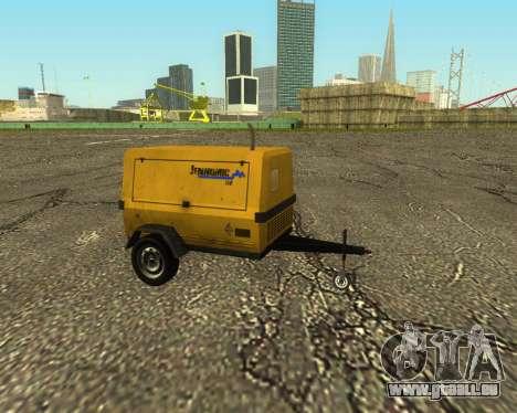 Multi Utility Trailer 3 in 1 für GTA San Andreas