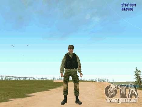 Guerrier bataillon Fantôme pour GTA San Andreas