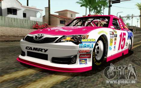 NASCAR Toyota Camry 2012 Plate Track pour GTA San Andreas