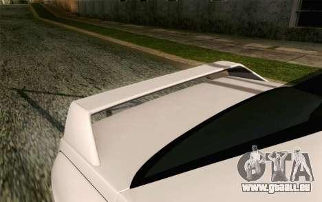 BMW M3 E30 2015 pour GTA San Andreas vue arrière